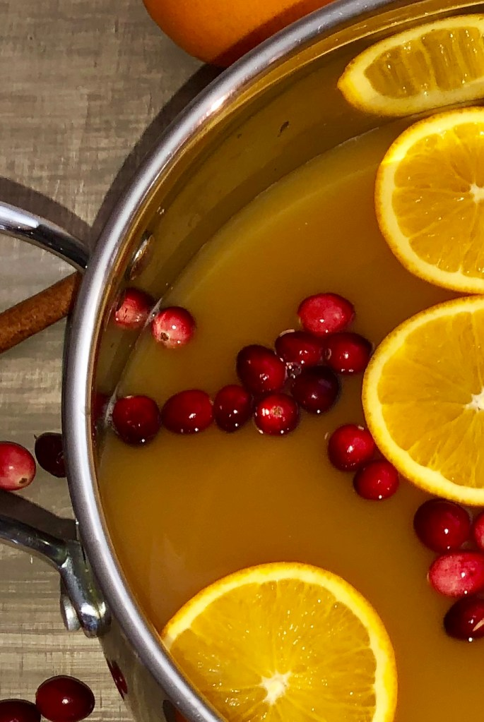 close up pic of hot wassail
