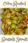 Browned Roasted Brussels Sprouts