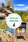 pictures of blue job mountain