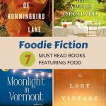 Four featured books -The tea girl of humingbird ln, the apple orchard, Moonlight in Vermont, and the lost Vintage