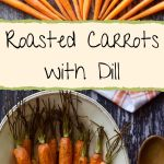 raw carrots spiraled on top; roasted carrots on bottom