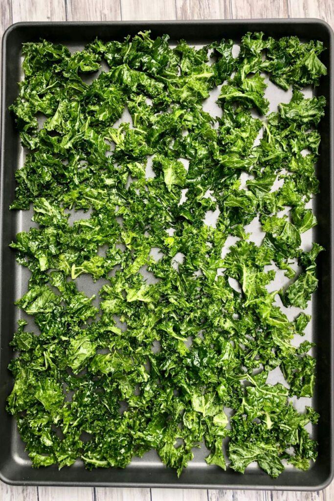 raw massaged kale